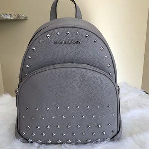 Michael Kors medium Abby studded backpack